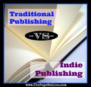 The Difference between Traditional and Indie Publishing