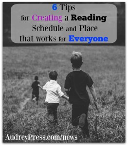 6 Tips for Creating a Reading Schedule and Place That Works