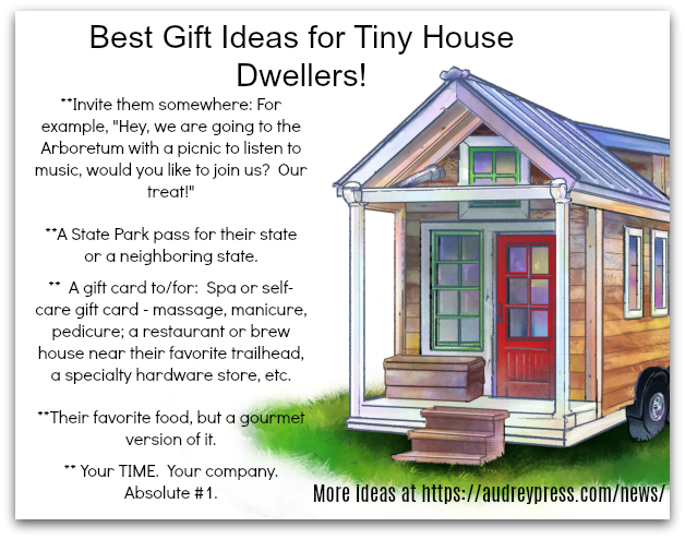 B.A.'s List of Best Gift Ideas for Tiny House Dwellers