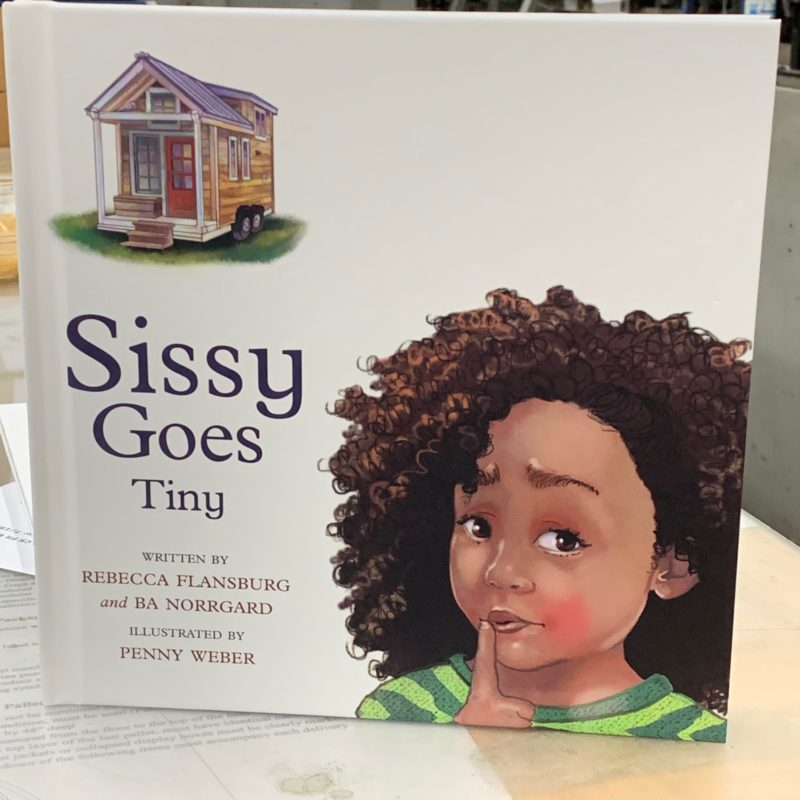 Gratitude and the new diverse picture book, Sissy Goes Tiny