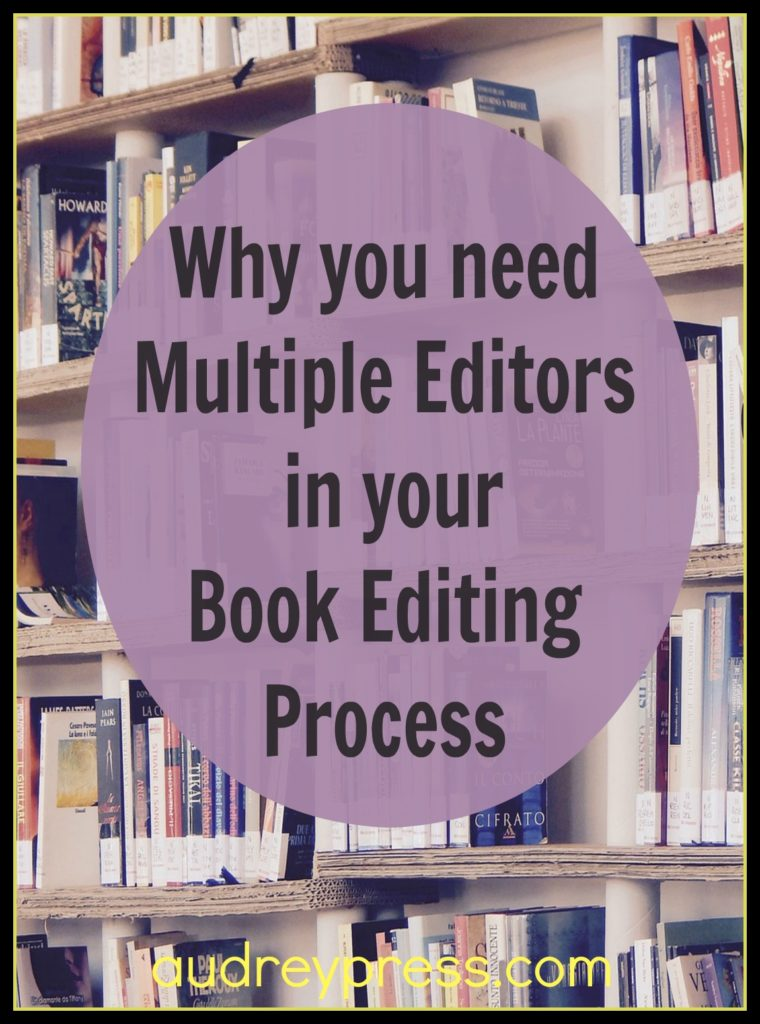 Editors in your Book Editing Process