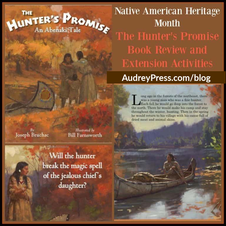 Kidlit for Native American Heritage Month: The Hunter's Promise: An Abenaki Tale