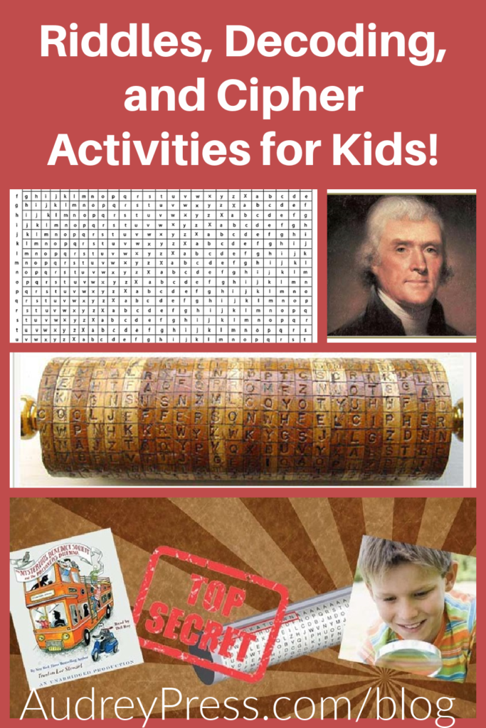Riddles, Decoding, and Cipher Activities for Kids