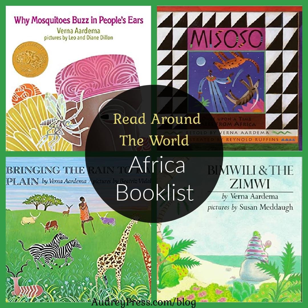 Read Around The World Africa Booklist